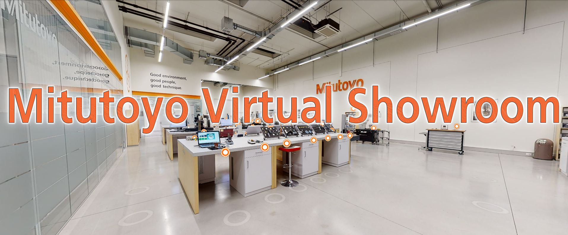 Mitutoyo Virtual Showroom